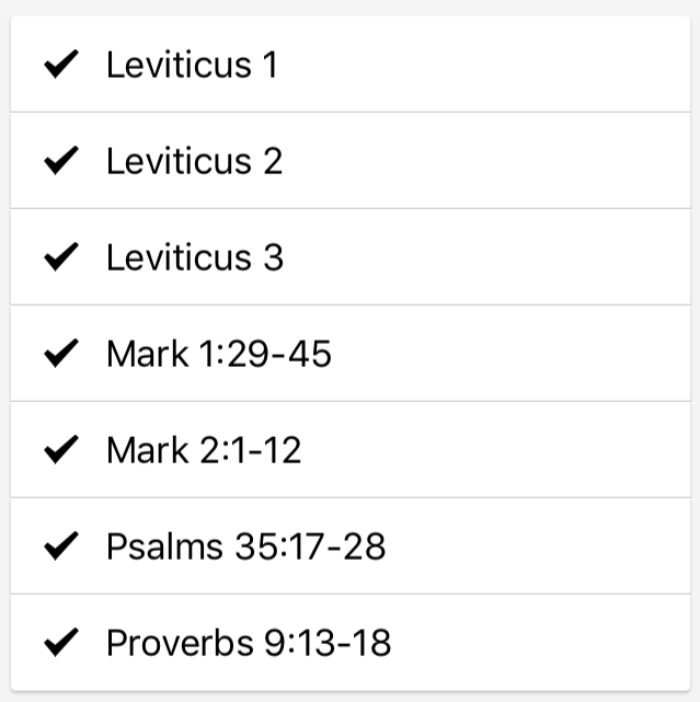 Why Leviticus? – February 16th – #FIRST15